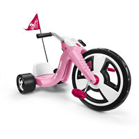 Big Flyer Sport 16 Front Large Wheel Chopper Tricycle Pink For Kids  Best Gift