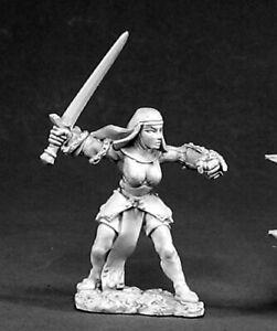Reaper Miniatures Sister Candice #02403 Dark Heaven Legends Unpainted Metal