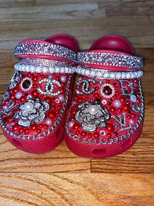 Womens Custom Crocs Size 7
