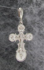 Orthodox Cross Pendant, Crucifix Sterling Silver,IS XS,Design #21