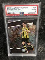 2017 Panini Revolution Christian Pulisic Rookie #31 Dortmund/Chelsea PSA 9