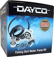DAYCO Cam Belt Kit inc Waterpump FOR Ford Laser 3/1990-9/1991 1.8L MPFI KF BP