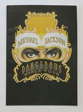 MICHAEL JACKSON / DANGEROUS WORLD TOUR PROGRAMME