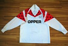 PUMA WEST GERMANY FORTUNA DUSSELDORF ? EINTRACHT ? VINTAGE FOOTBALL SHIRT 7-8