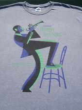 2012 Monterey Jazz Festival ARTIST! size XL T-SHIRT pat metheny tony bennett