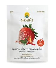 Savory Strawberry Doi Kham Dried Natural fruits Vegetables Snack 30g
