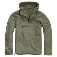 Cappotti e giacche da uomo verde con cappuccio impermeabili