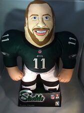 "Philadelphia Eagles Star Carson Wentz 24"" Rare NFL Player Studds Plush Figure"