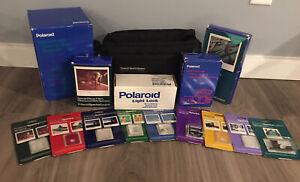 Polaroid Spectra System Acc. Tenba Bag Filters Tripod Close Up Lens No Camera