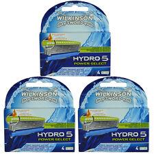 12 Wilkinson Hydro 5 Power Select Rasierklingen Neu Original Verpackt