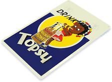 TIN SIGN Topsy Chocolate Drink Retro Beverage Sign Kitchen Cottage A179