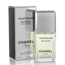 EGOISTE PLATINUM de CHANEL - Colonia / Perfume EDT 50 mL - Man / Uomo - Egoïste