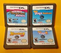 Petz Dogz Fashion, Dogz 2, Hamsterz Life, Paws Claw Nintendo DS Lite 2ds 3ds Lot