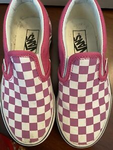 Girls Vans Size 12 Play