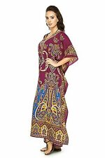 Womens Dashiki Dress African Clothing Kente Print Maxi Long vtg Kaftan Plus Size