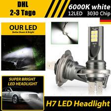 2× H7 LED NebelScheinwerfer Birnen Set HI- LO Beam DRL Weiß Lampen XENON 6000K
