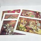 CM Coolidge Anthropomorphic Dogs Playing Cards Poker SET OF 5 prints Vintage Dog