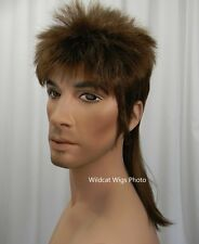 Way Cool MULLET Wig .. Great for Halloween or Costume!  Nice Quality!! *