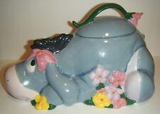 Disney Direct Eeyore Cookie Jar Based on Winnie The Pooh Works by Aa Milne