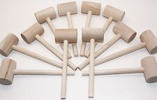 Beall's Bay 12 Pack Crab or Lobster Mallets with Off-Season Storage Box