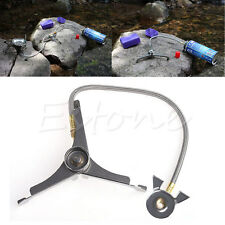 Camping Cooking Stove Adaptor Lengthened Link Adaptor Gas Nozzle Bottle New