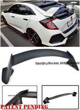 Type R Style Primered BK Rear Trunk Wing Spoiler For 16-Up Honda Civic Hatchback