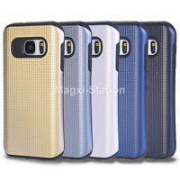 Hybrid Rugged Shockproof Rubber Armor Case Cover For Samsung Galaxy S7 / S7 edge