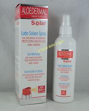 ESI Aloedermal LATTE SOLARE SPRAY SPF50+ 150ml melanina Sun Milk water resistant