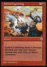 Forked Lightning | EX | Portal | Magic MTG