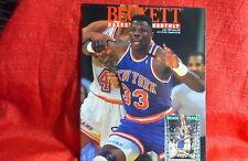 NBA Beckett Magazine New York Knicks Patrick Ewing June 1993