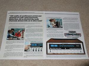 Marantz 2325 Receiver Ad, 2 pages, 1975, Articles, Specs, Info