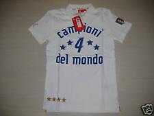ITALIA POLO CELEBRATIVA CAMPIONI DEL MONDO BIANCA XS