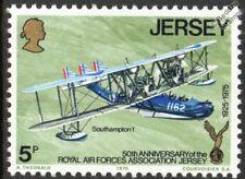 RAF / RAFA SUPERMARINE SOUTHAMPTON Mk.I Flying Boat Aircraft Stamp (1975 Jersey)