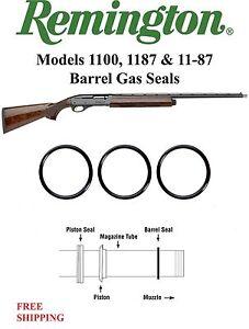 (6 Pack) Remington 12 Gauge Graphite Barrel Gas Seal O-Ring 1100 1187 11-87