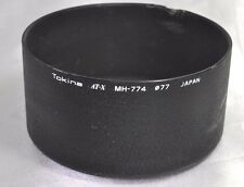 Tokina AT-X MH-774 77mm Metal Lens Hood for 80-200mm f2.8 SD screw in Genuine