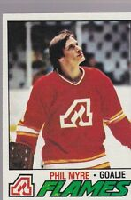 1977-78 TOPPS HOCKEY PHIL MYRE #193 FLAMES NMMT *54688