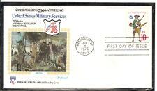 US SC # 1568 America Militia FDC. Fleetwood Cachet.