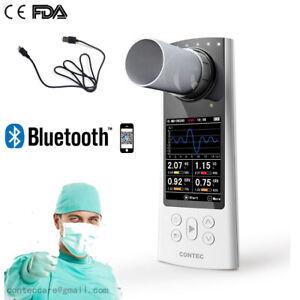 Spirometro digitale Spirometria diagnostica della respirazione polmonare,USB,app