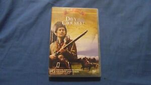 Davy Crockett King Of The Wild Frontier - DVD - R4 - Free Postage