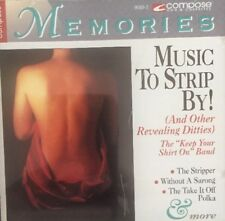 Music to Strip By! by Various Artists (CD, Dec-1999, Compose Records)