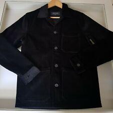 A DAYS MARCH - Mens Original Corduroy Overshirt Jacket Size S Black