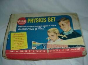 Vintage American Flyer  1959 AC Gilbert Physics  Chemistry Set Number 15100