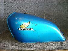 HONDA OEM GAS FUEL PETRO TANK CANDY SAPPHIRE BLUE XL250 XL 250 1976 VINTAGE 386
