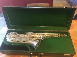 "Saxophone tenor Julius Keilwerth TONE KING ""Angel Wings"" prét à jouer"