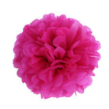 "9 Paper Tissue Pom Poms 8"" 10"" 12"" 14"" Wedding Party Flower event decoration"