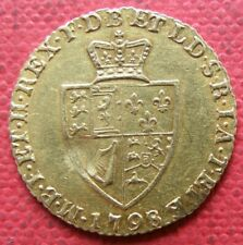More details for g.b. 1798 king george 111 gold half guinea coin. in very fine grade