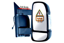 FIAT DUCATO COMPLETO PORTA SPECCHIETTO RETROVISORE ESTERNO ELETTRICO RISCALDATO Medium Braccio Destro O/S 2006 su