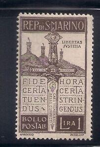 San Marino   1923   Sc # 83   MLH   (54075)
