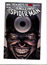 Amazing Spider -man  572  D.Finch Bullseye  Variant Cov . Marvel  2008- FN / VF
