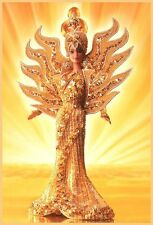 1995 FANTASY Barbie Bob Mackie GODDESS OF THE SUN Hand Sewn Gown MAGNIFICENT
